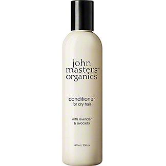 John Masters Organics Dry Hair Conditioner Lavender Avocado, 8 fl oz