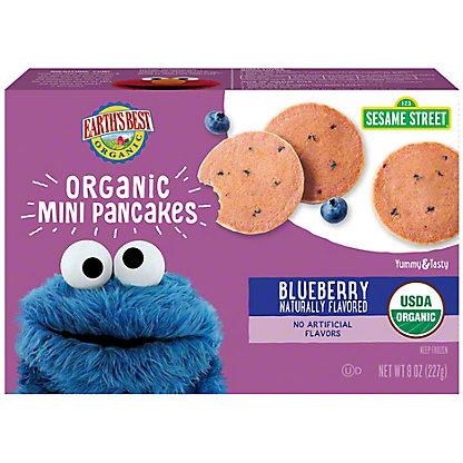 Earth's Best Organic Blueberry Mini Pancakes, 8 oz