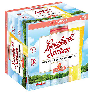 Leinenkugel's Spritzen Grapefruit Beer 12 oz Cans, 6 pk