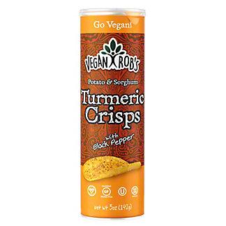 Vegan Rob's Potato & Sorghum Turmeric Crisps, 5 oz