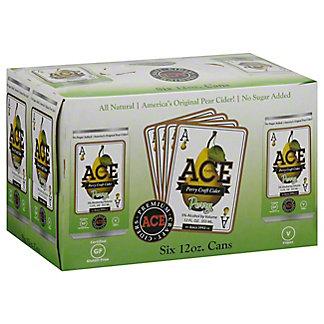 Ace Perry Craft Cider, 6 pk Glass Bottles, 12 fl oz ea