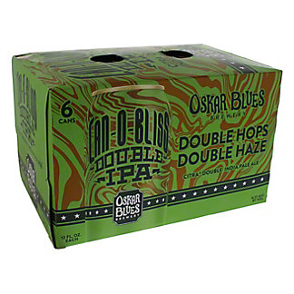 Oskar Blues Can-O-Bliss Citra Double IPA Beer 12 oz Cans, 6 pk