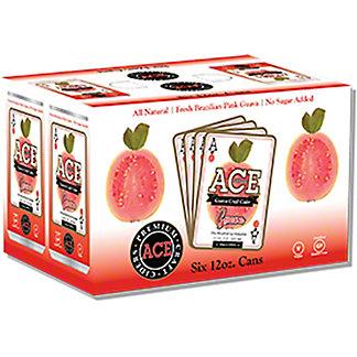 Ace Guava Craft Cide, 6 pk Cans, 12 floz ea