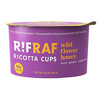 RifRaf Wildflower Honey Ricotta Cheese Cup, 4.6 oz