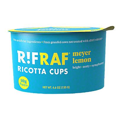 RifRaf Meyer Lemon Ricotta Cheese Cup, 4.6 oz