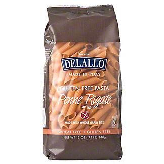 Delallo Gluten Free Pasta Penne Rigate, 12 oz