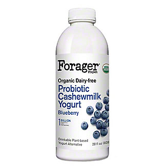 Forager Project Probiotic Blueberry Cashewmilk Yogurt, 28 fl oz
