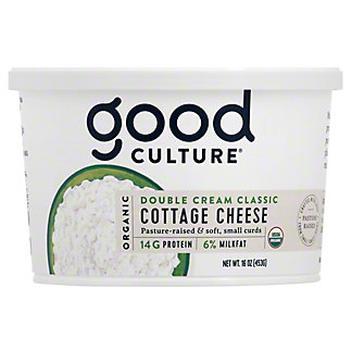 Good Culture Double Cream Classic Cottage Cheese, 16 oz