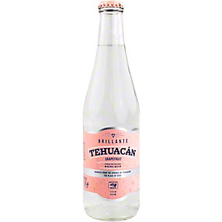 Tehuacan Grapefruit Sparkling Mineral Water, Bottle , 12 fl oz