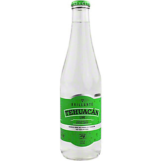 Tehuacan Lime Sparkling Mineral Water, Bottle , 12 fl oz