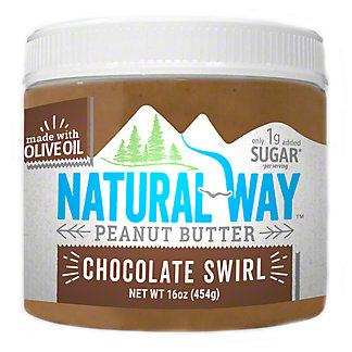 Natural Way Chocolate Swirl Peanut Butter, 16 oz