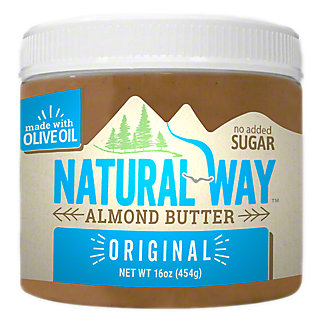 Natural Way Almond Butter, 16 oz
