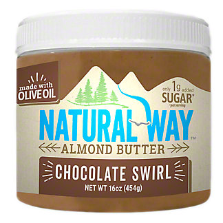 Natural Way Chocolate Swirl Almond Butter, 16 oz