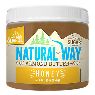 Natural Way Honey Almond Butter, 16 oz