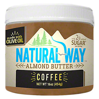 Natural Way Coffee Almond Butter, 16 oz