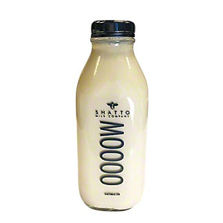 Shatto Milk Company Cookies & Cream Milk, Glass Bottle, 32 fl oz