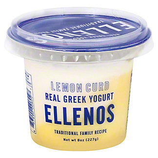 Ellenos Lemon Curd Greek Yogurt, 8 oz