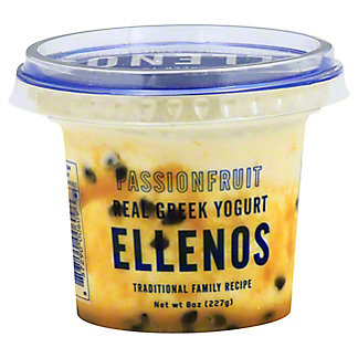 Ellenos Passion Fruit Greek Yogurt, 8 oz