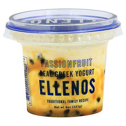 Ellenos Passion Fruit Greek Yogurt, 8 oz