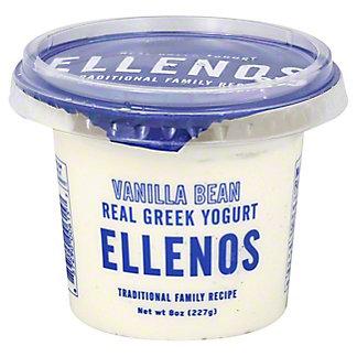Ellenos Vanilla Bean Greek Yogurt, 8 oz