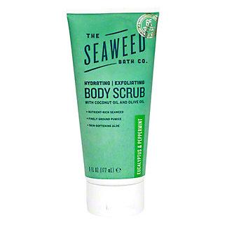 The Seaweed Bath Company Eucalyptus & Peppermint Body Scrub, 6 oz