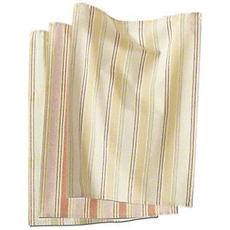Tag Honey Stripe Dishtowel, 3 pk