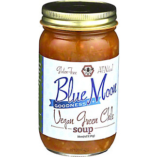 Blue Moon Goodness Vegan Green Chile Soup, 16 oz