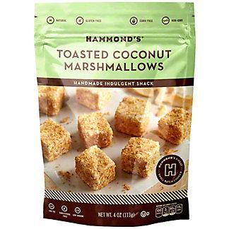 Hammond's Toasted Coconut Marshmallows, 4 oz