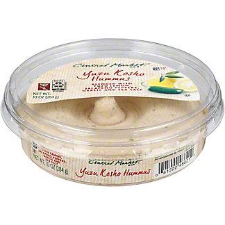 Central Market Yuzu Kosho Hummus, 10 oz