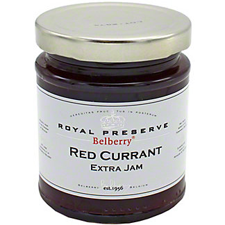 Belberry Royal Preserve Red Currant Extra Jam, 215 gr