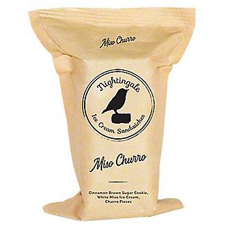 Nightingale Ice Cream Sandwiches Miso Churro, ea