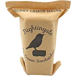 Nightingale Ice Cream Sandwiches Lemon Honey Halva, ea