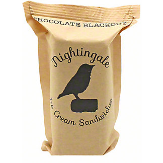 Nightingale Ice Cream Sandwiches Chocolate Blackout, ea