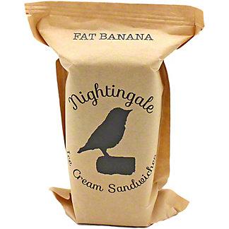 Nightingale Ice Cream Sandwiches Fat Banana, ea