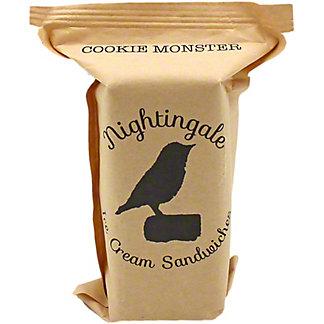 Nightingale Ice Cream Sandwiches Cookie Monster, ea