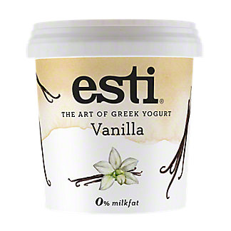Esti Vanilla 0% Milkfat Greek Yogurt , 32 oz
