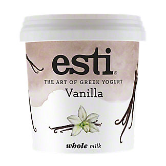 Esti Vanilla Whole Milk Greek Yogurt , 32 oz