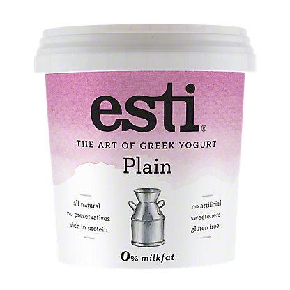 Esti Plain 0% Milkfat Greek Yogurt, 32 oz