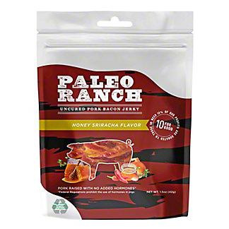 Paleo Ranch Honey Sriracha Uncured Pork Bacon Jerky, 1.50 oz