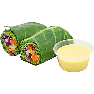 Central Market Tropical Collard Green Wrap, ea