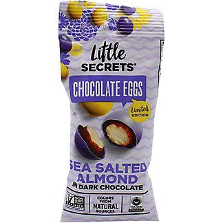Little Secrects Dark Chocolate Sea Salt Almond Eggs, 1.4 oz
