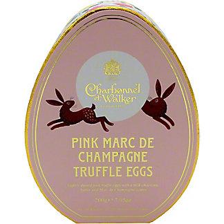 Charbonnel Et Walker Pink MarcDe Champagne Truffle Eggs, 7.05 oz