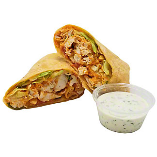Central Market Buffalo Chicken Wrap, ea