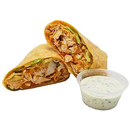 Central Market Buffalo Chicken Wrap, ea