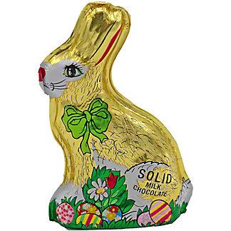 Madelaine Small Milk Chocolate Foiled Sitting Rabbit, 2.5 oz