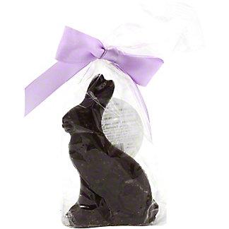 Nancy Adams Small Belgian Dark Chocolate Bunny, 2 oz