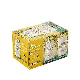 Juneshine Honey Ginger Lemon, 6 pk Cans, 12 fl oz ea