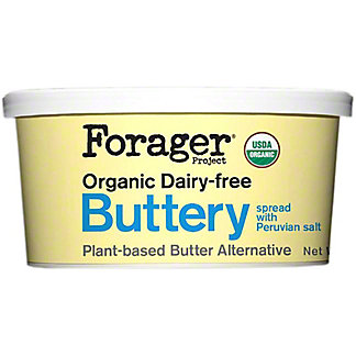 Forager Organic Dairy-Free Buttery Spread with Peruvian Sea Salt, 10 oz