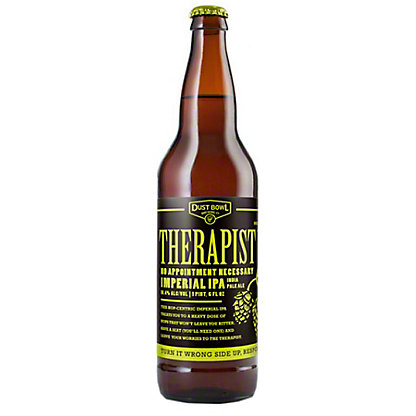 Dust Bowl Brewing Company Therapist Imperial IPA, 1 L