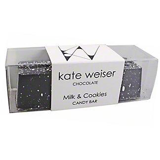 Kate Weiser Chocolate Milk & Cookies Bar, ea